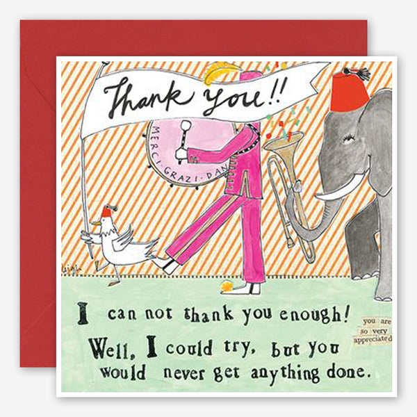 Curly Girl Design: Thank You Card: Thank You
