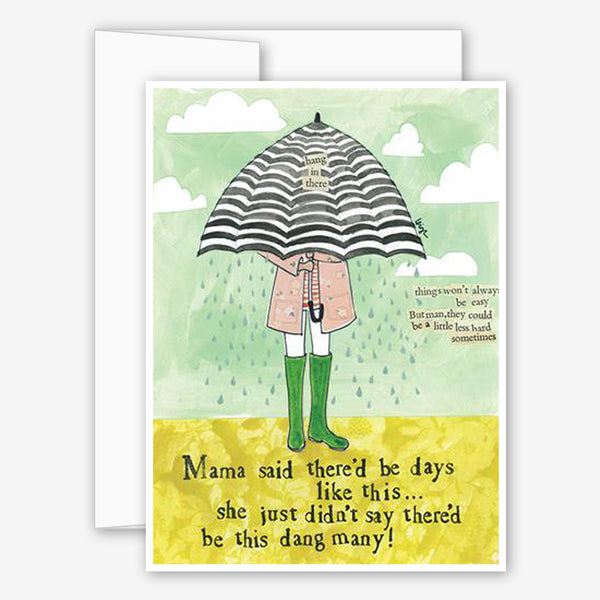Curly Girl Design: Encouragement Card: Mama Said