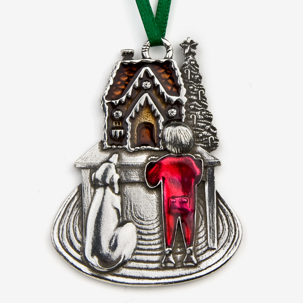 Danforth Pewter: Pewter Ornaments: Sweet Anticipation 2017 Annual Ornament