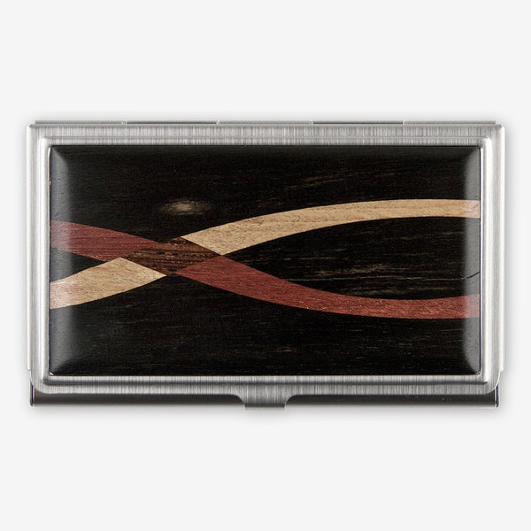 Davin & Kesler: Business Card Case: Inlay Ebony