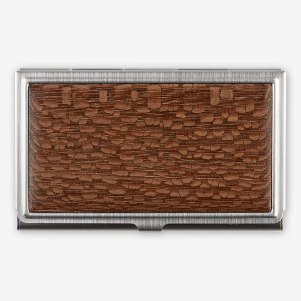Davin & Kesler: Business Card Case: Solid Lacewood