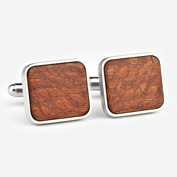 Davin & Kesler: Cuff Links: Solid Lacewood