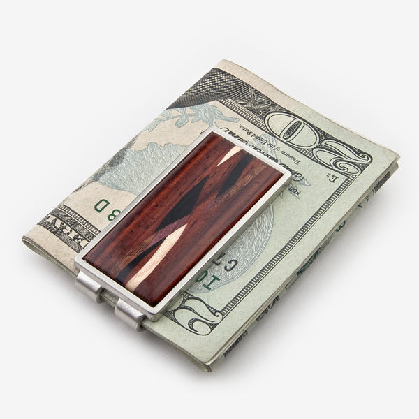 Davin & Kesler: Money Clip: Inlay Cocobolo