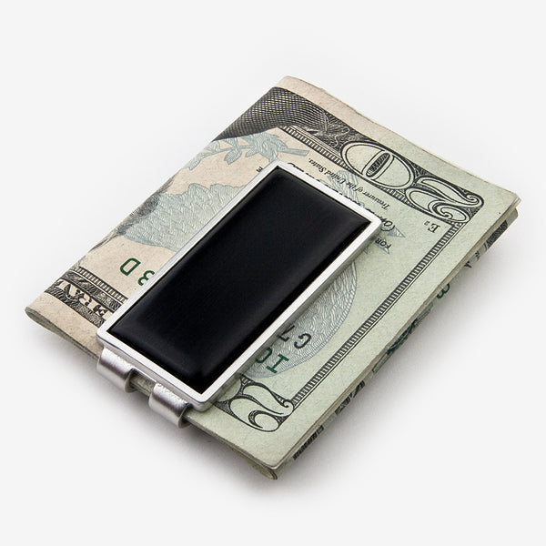 Davin & Kesler: Money Clip: Solid Ebony
