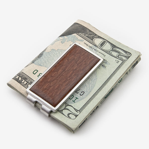 Davin & Kesler: Money Clip: Solid Lacewood