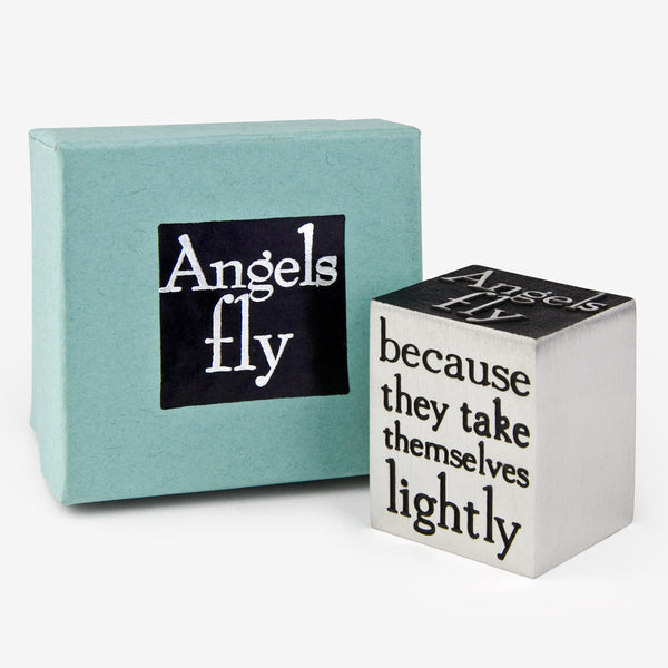 Danforth Pewter: Paperweight: Angels Fly