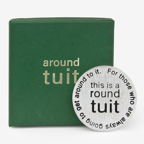 Danforth Pewter: Paperweight: Around Tuit