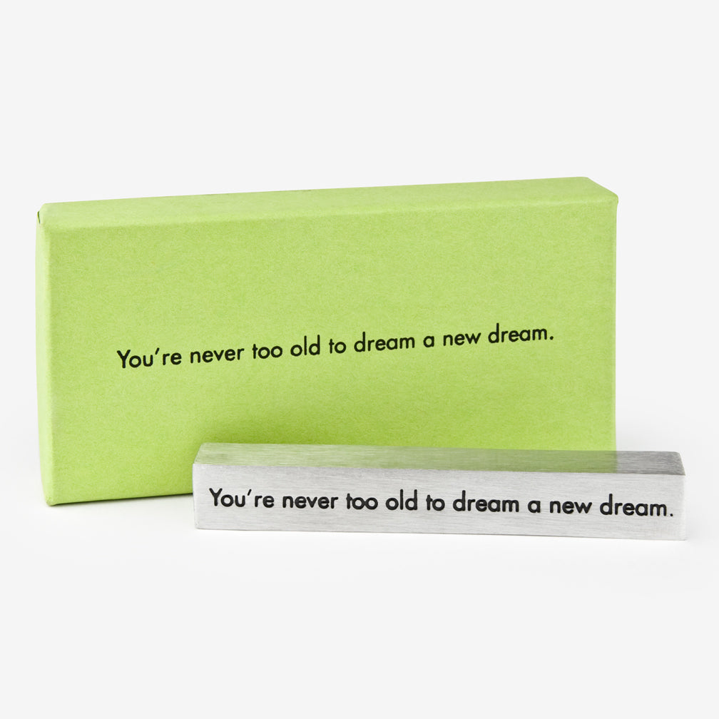 Danforth Pewter: Paperweight: Dream a Dream