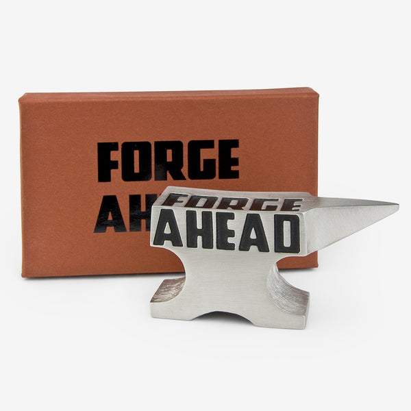 Danforth Pewter: Paperweight: Forge Ahead
