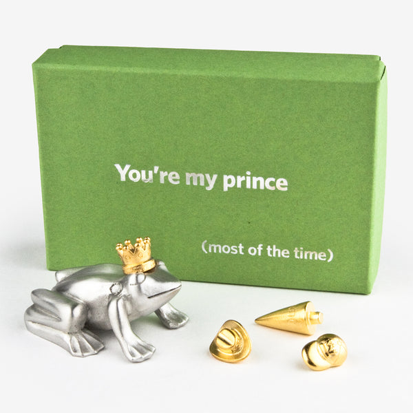 Danforth Pewter: Paperweight: You're My Prince (most of the time)