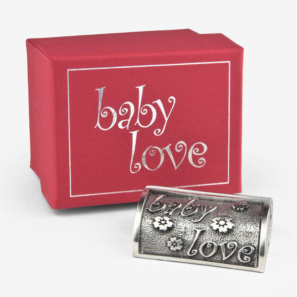 Danforth Pewter: Photo Stand: Baby Love