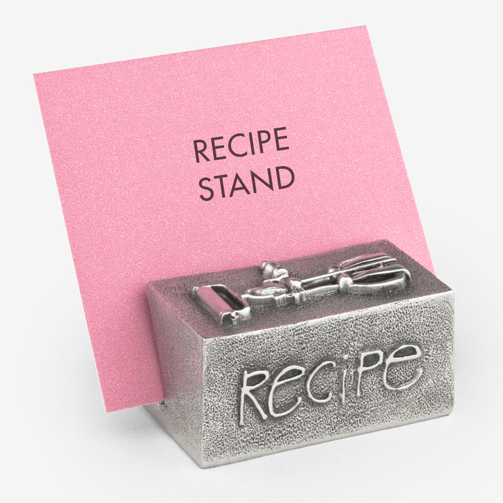 Danforth Pewter: Recipe Stand