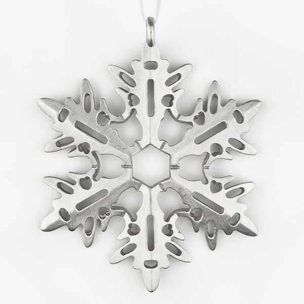 Danforth Pewter: Snowflake Ornament #3