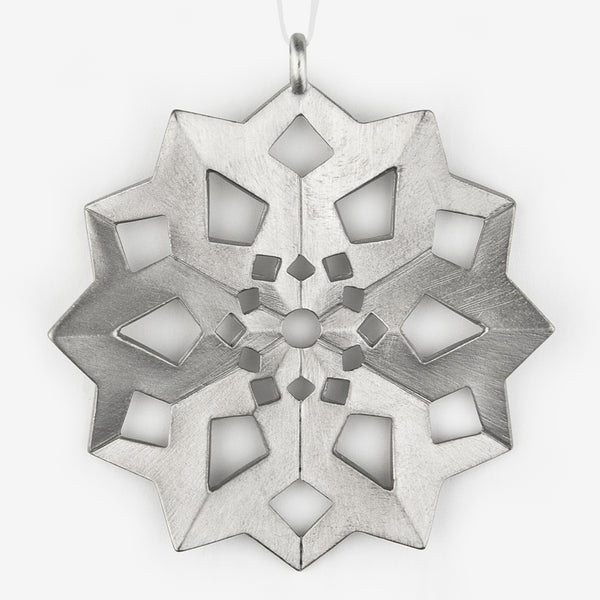 Danforth Pewter: Snowflake Ornament #4