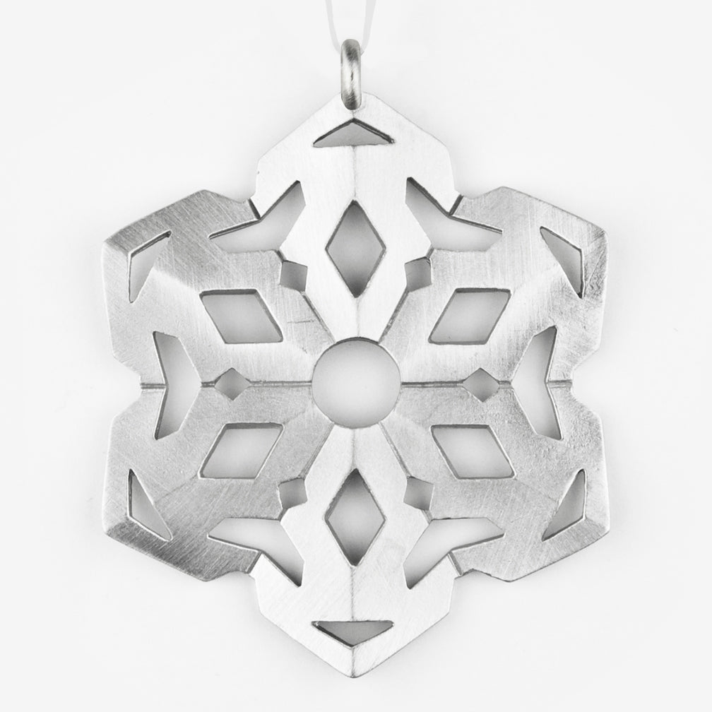 Danforth Pewter: Snowflake Ornament #5