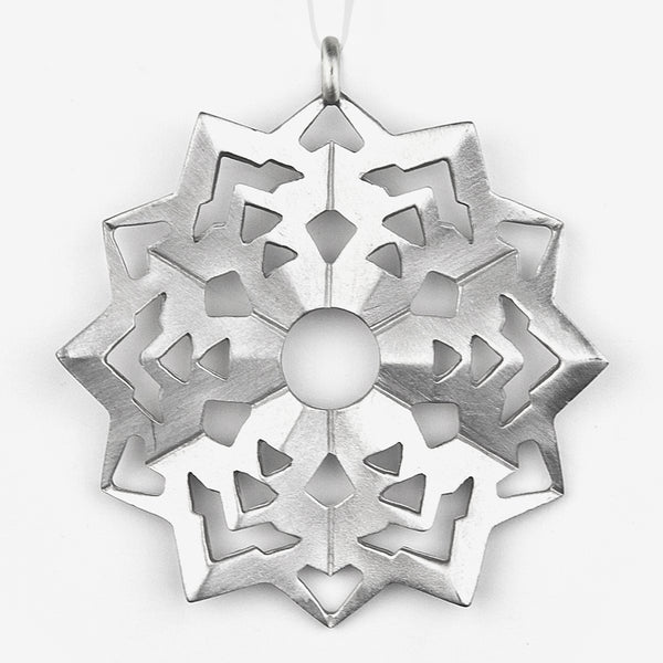 Danforth Pewter: Snowflake Ornament #6