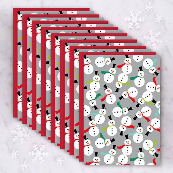 Design with Heart Studio Holiday Card: Holiday Snowmen - Box Set