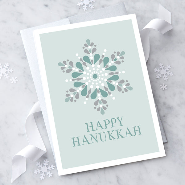 Design with Heart Studio Hanukkah Card: Happy Hanukkah