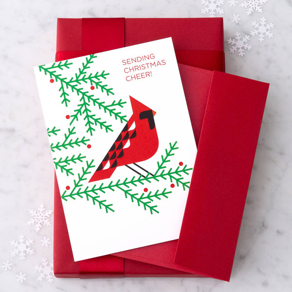 Design with Heart Studio Holiday Card: Sending Christmas Cheer!