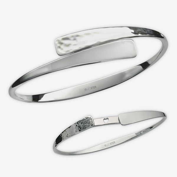 Ed Levin Designs: Bracelet: Secret Heart, Silver