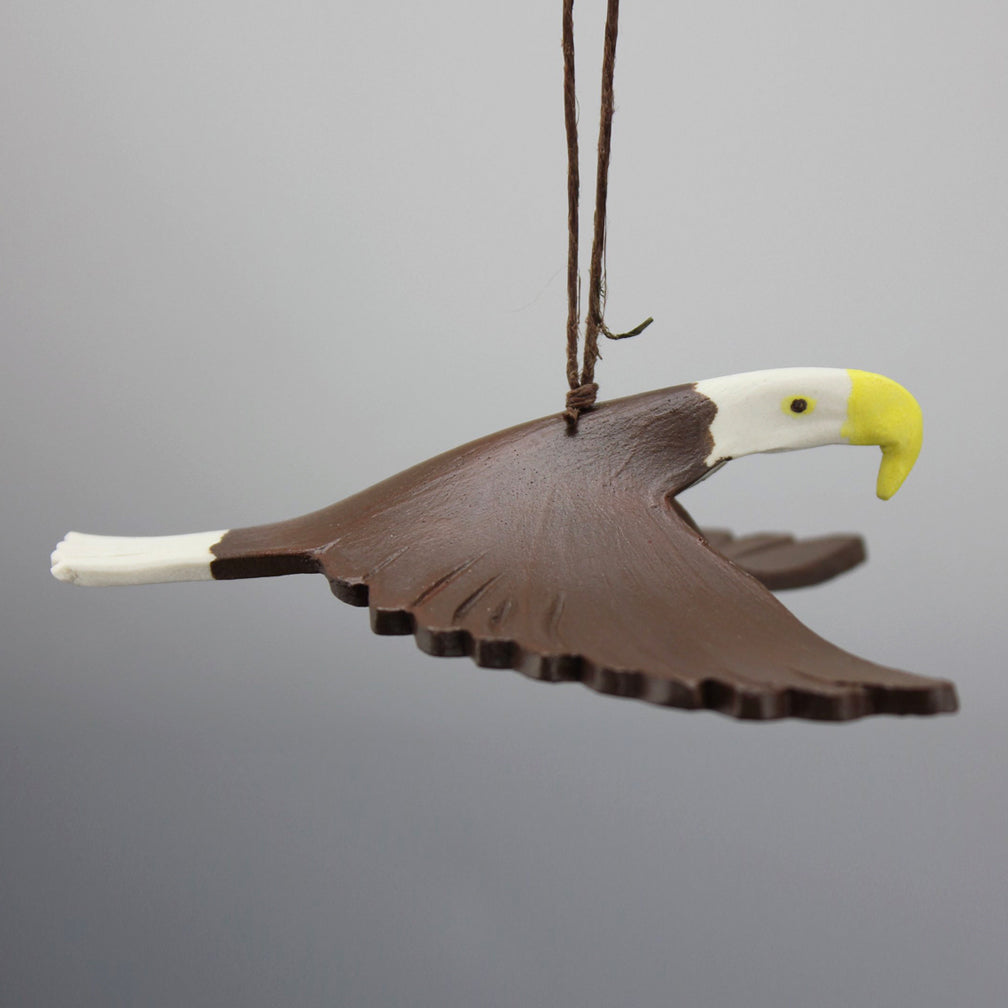 Evening Star Studio: Ornament: Bald Eagle