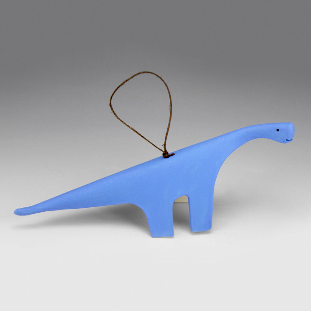 Evening Star Studio: Ornament: Brontosaurus