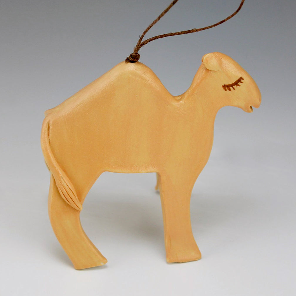 Evening Star Studio: Ornament: Camel