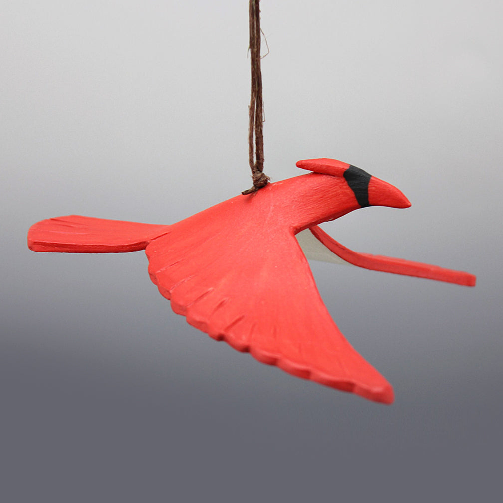 Evening Star Studio: Ornament: Cardinal