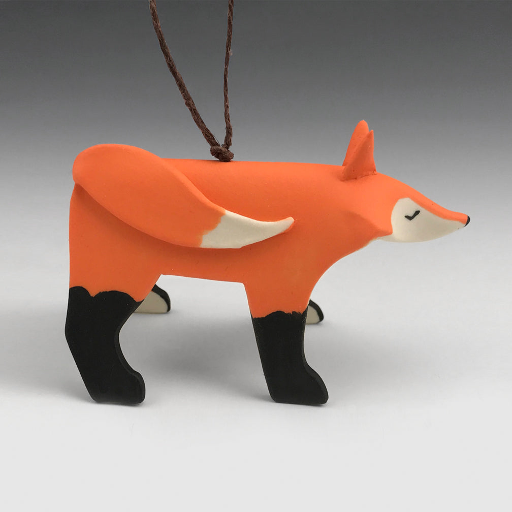 Evening Star Studio: Ornament: Fox