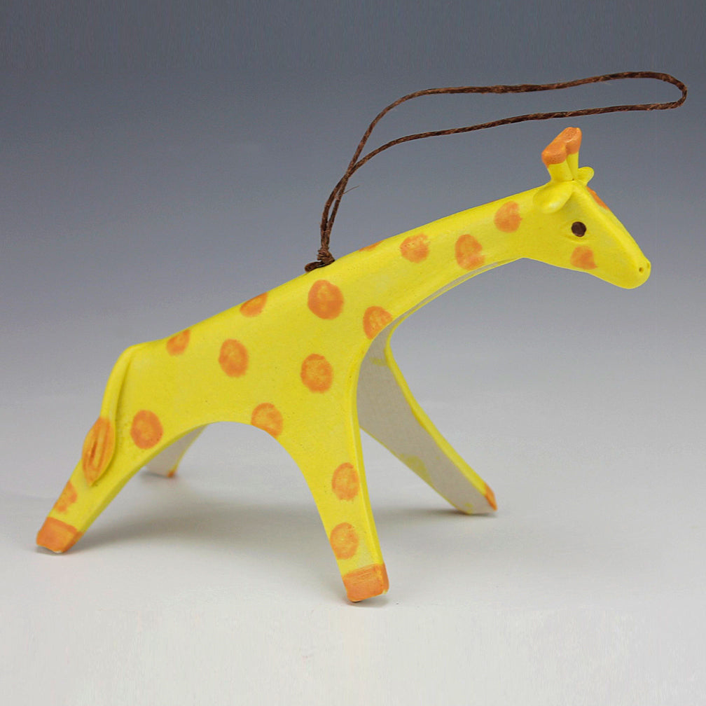 Evening Star Studio: Ornament: Giraffe