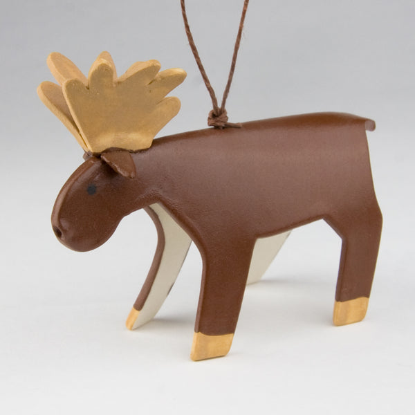 Evening Star Studio: Ornament: Moose