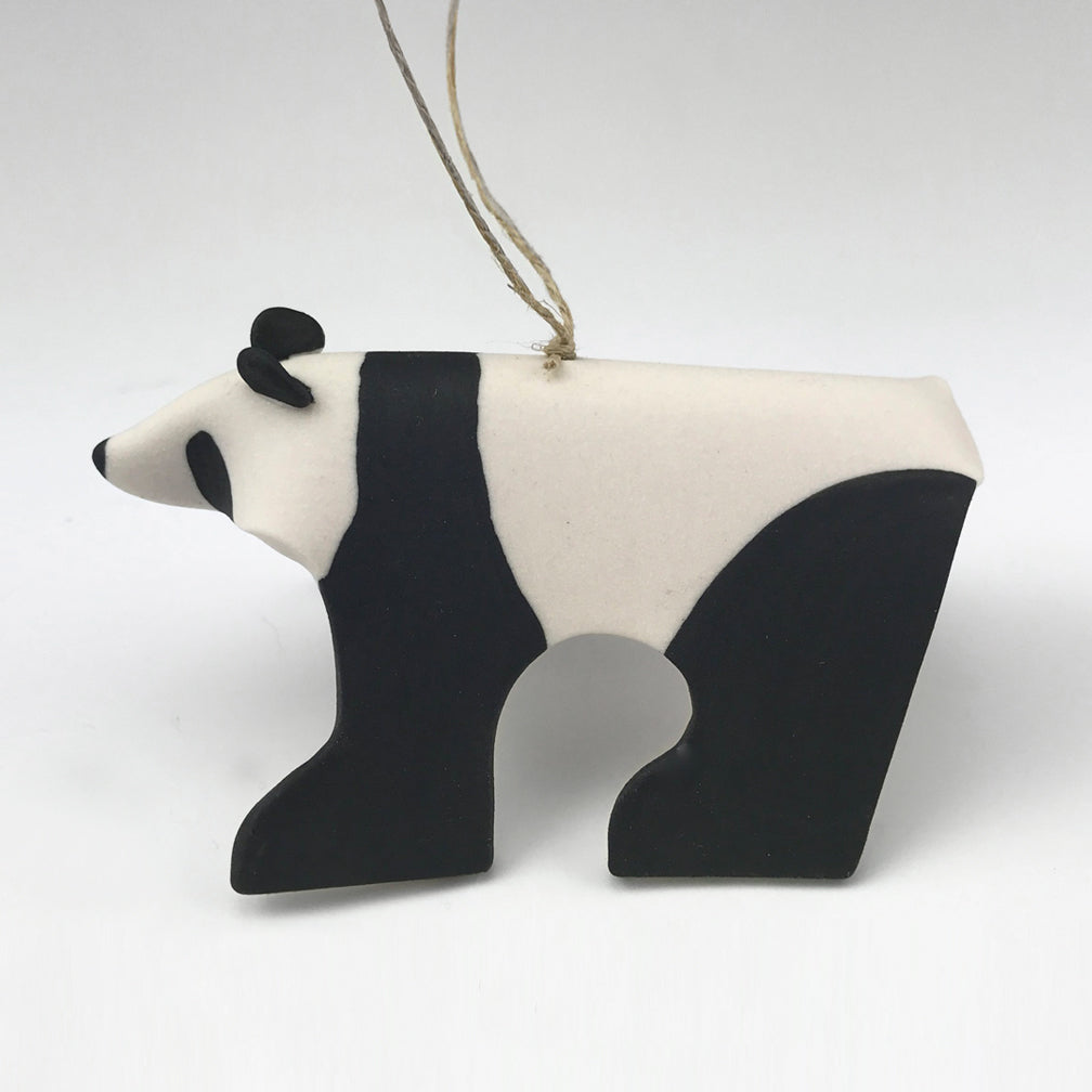 Evening Star Studio: Ornament: Panda