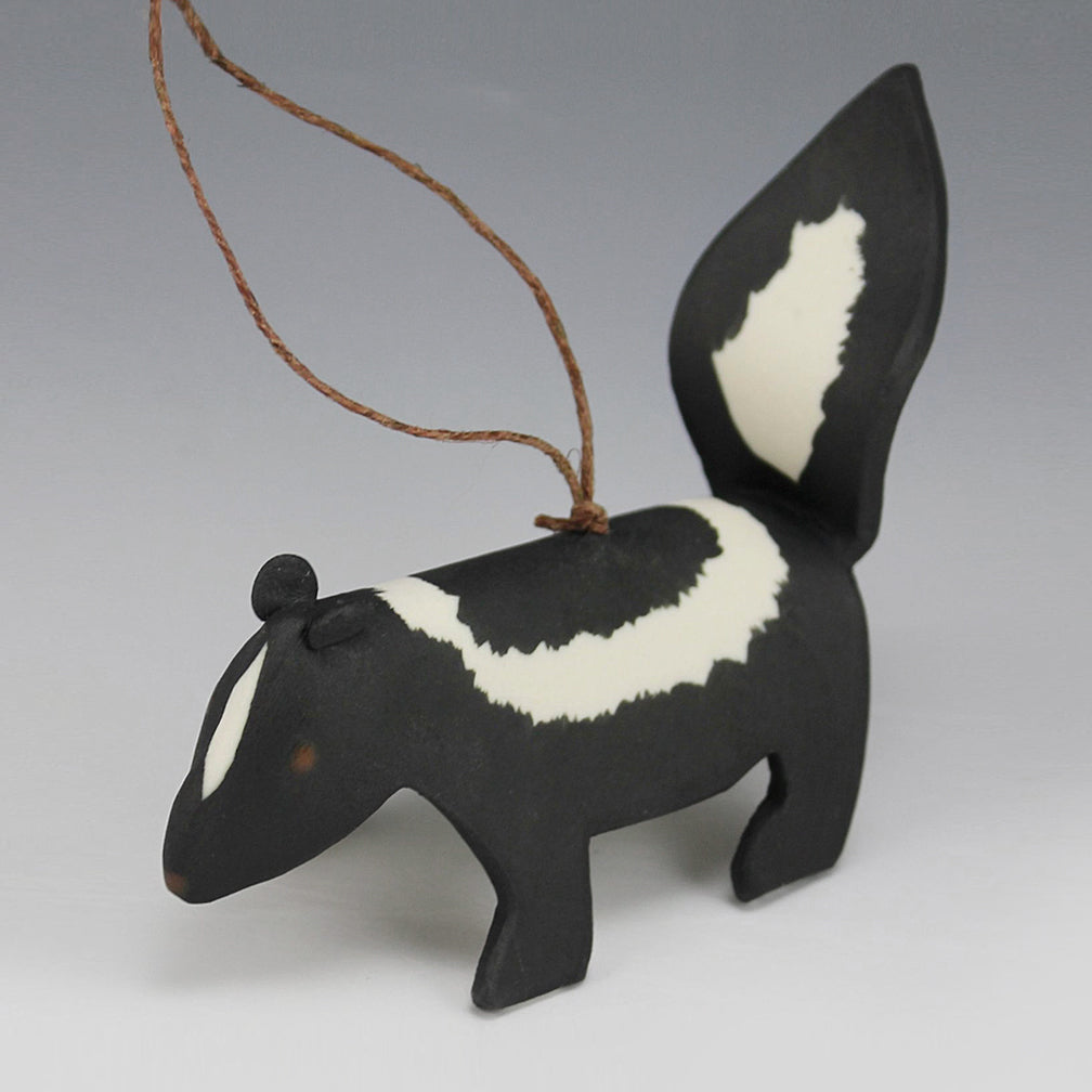 Evening Star Studio: Ornament: Skunk