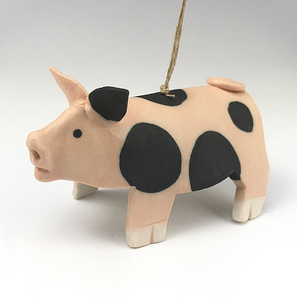 Evening Star Studio: Ornament: Spotted Pig