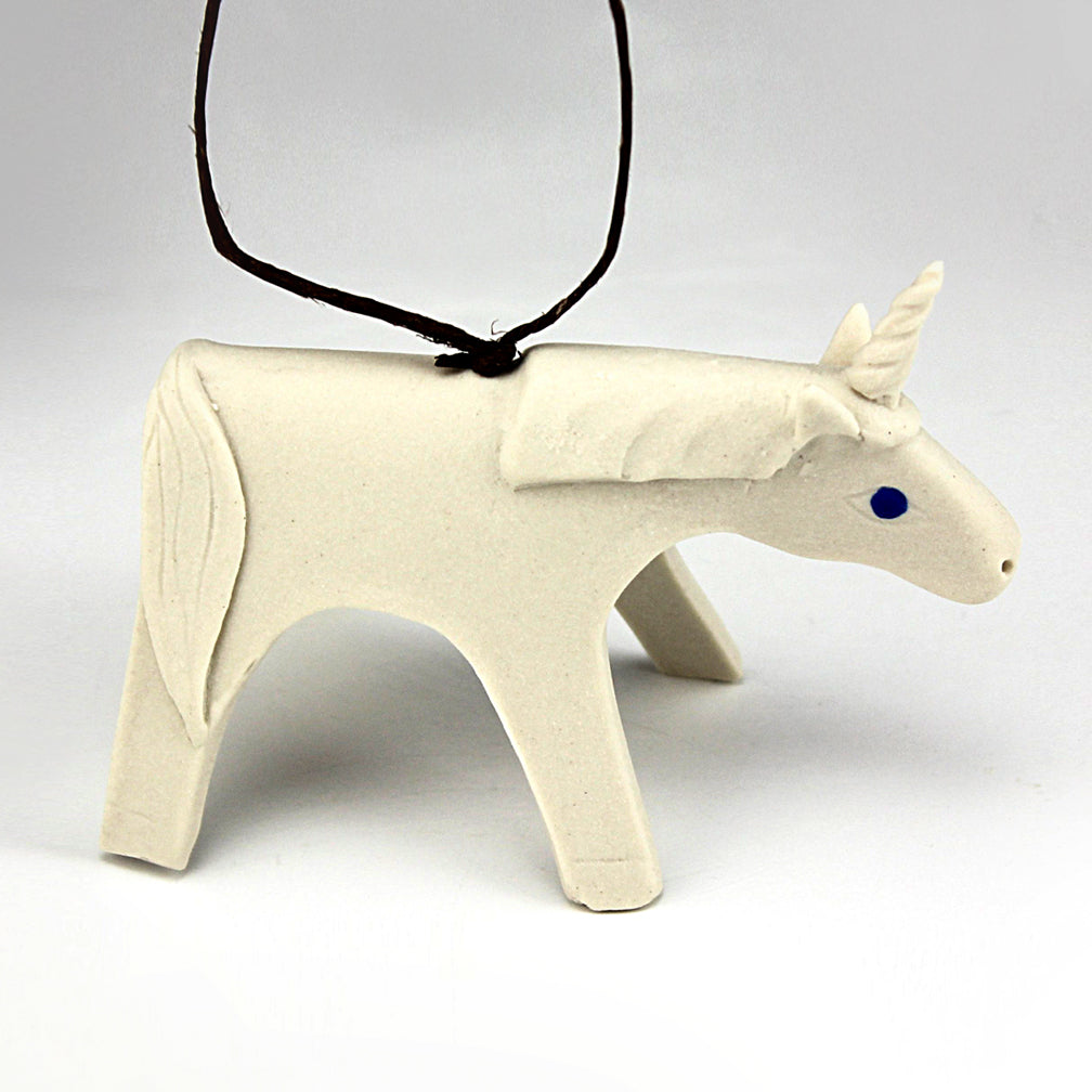 Evening Star Studio: Ornament: Unicorn