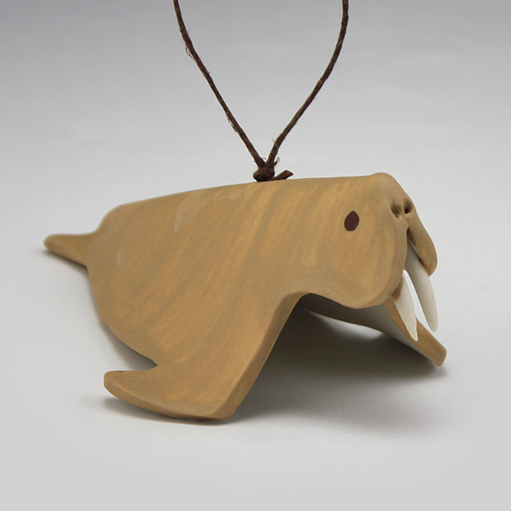 Evening Star Studio: Ornament: Walrus
