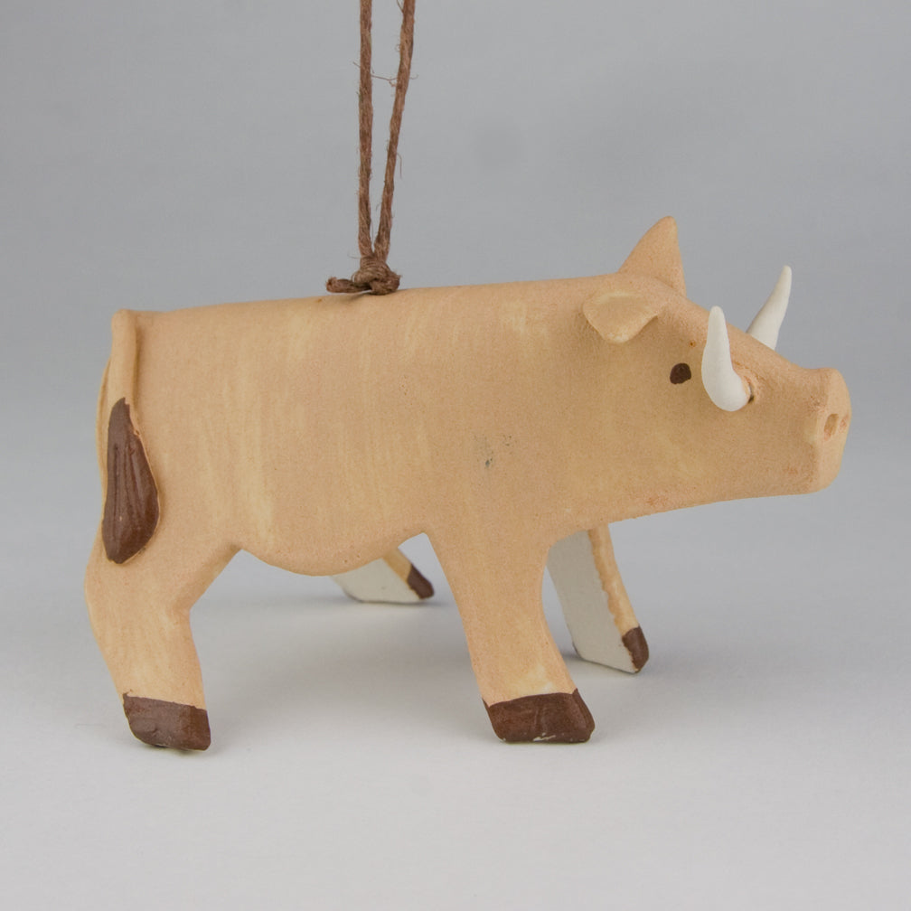 Evening Star Studio: Ornament: Warthog