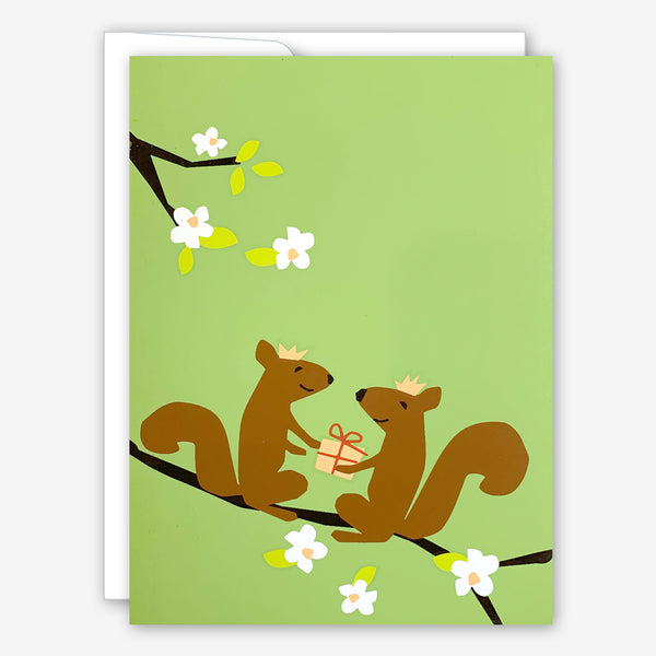 Great Arrow Anniversary Card: Anniversary Squirrels