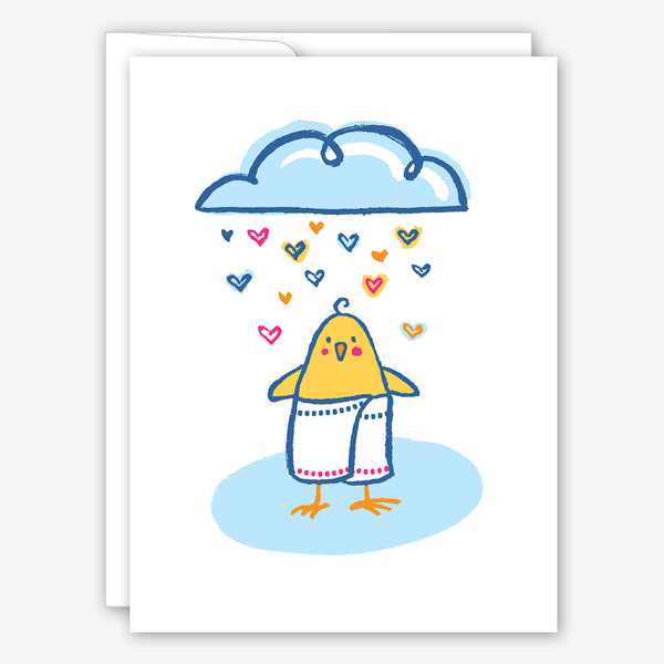 Great Arrow Baby Shower Card: Shower Chick