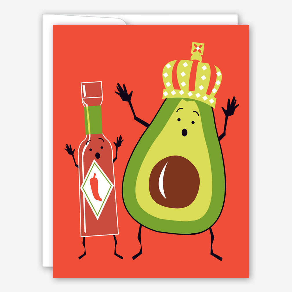 Great Arrow Birthday Card: Holy Guacamole