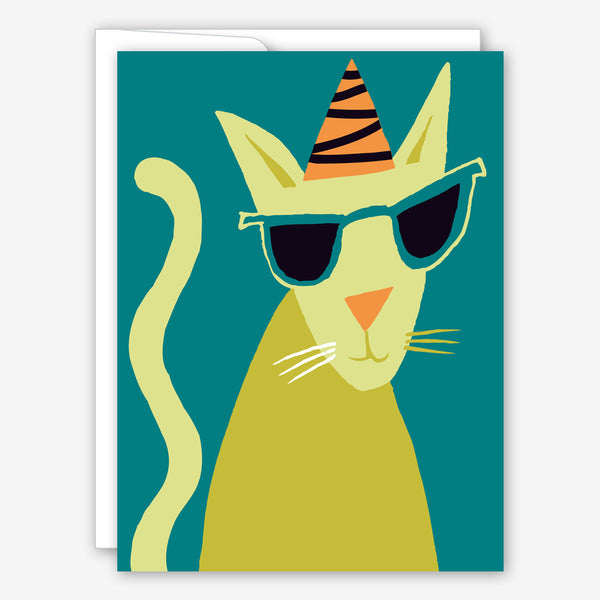 Great Arrow Birthday Card: Cool Cat