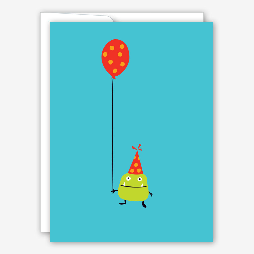 Great Arrow Birthday Card: Little Birthday Monster