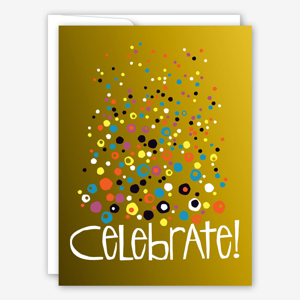 Great Arrow Birthday Card: Celebrate Bubbles