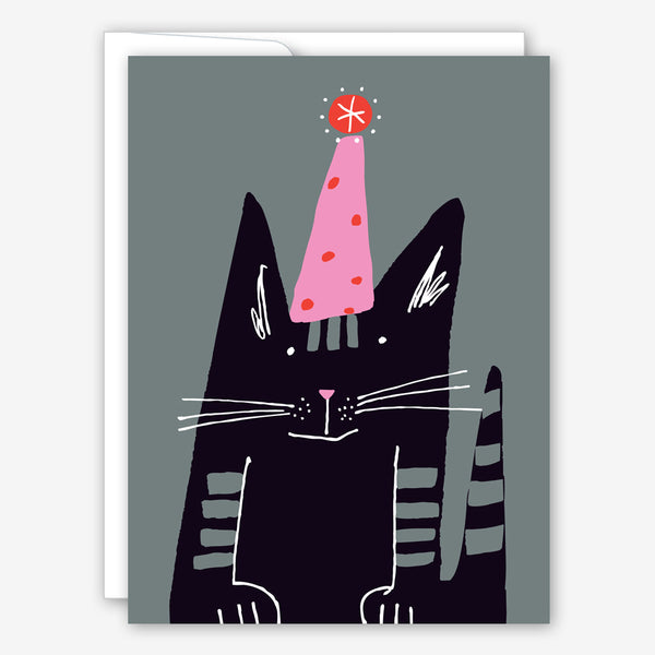 Great Arrow Birthday Card: Scratchy Part Cat