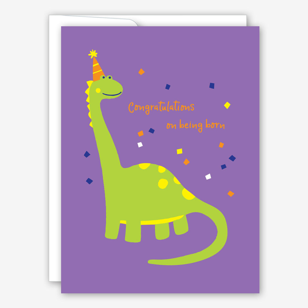 Great Arrow Birthday Card: Brachiosaurus