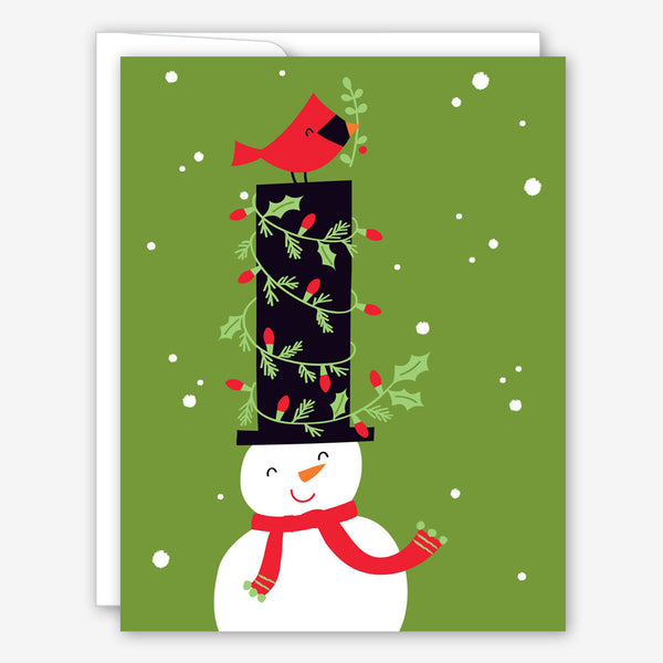 Great Arrow Christmas Card: Stovepipe Snowman