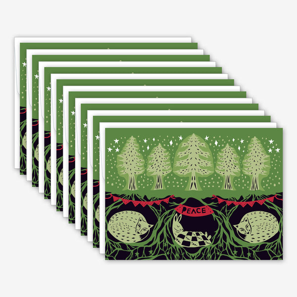 Great Arrow Christmas Box of Cards: Long Winter's Nap