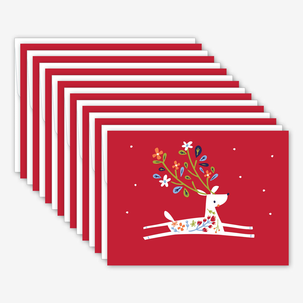 Great Arrow Christmas Box of Cards: Little Reindeer