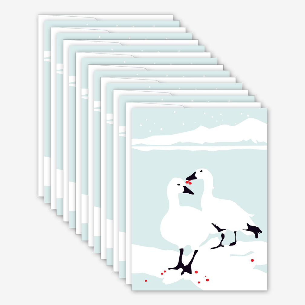 Great Arrow Christmas Box of Cards: Geese