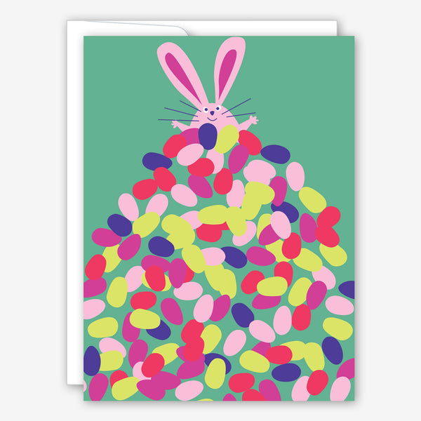 Great Arrow Easter Card: Jelly Bean Bunny
